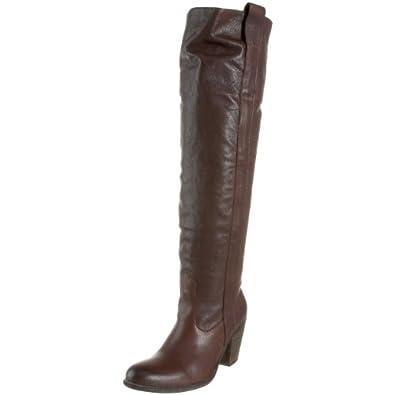 FRYE Women's Taylor Over-The-Knee Boot,Dark Brown,9.5 M US