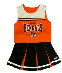 Cincinnati Bengals Two Piece Youth Cheerleader Outfit - Buy Cincinnati Bengals Two Piece Youth Cheerleader Outfit - Purchase Cincinnati Bengals Two Piece Youth Cheerleader Outfit (Reebok, Reebok Dresses, Reebok Girls Dresses, Apparel, Departments, Kids & Baby, Girls, Dresses, Girls Dresses, Jumpers, Girls Jumpers, Jumper Dresses, Girls Jumper Dresses)