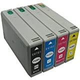 eStoreimport Compatible Ink Cartridges XL Replacement for Epson 676 (Black, Cyan, Magenta, Yellow, 4-Pack)