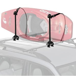 Yakima Kayak Stacker Rooftop Kayak Carrier with Tie-Downs