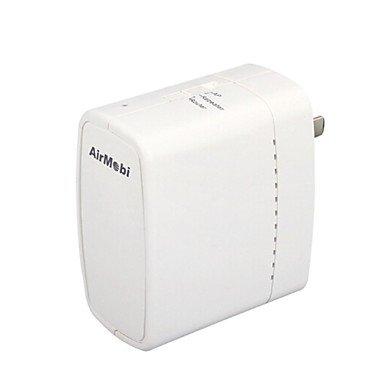 Zaki Airmobi Ishare 150Mps Wireless Router Storage Wifi Share Uk Plug Version