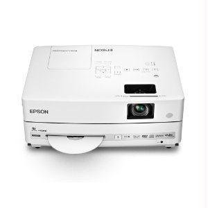 Epson PowerLite Presenter Multimedia Projector, LCD WXGA 3000:1 16:10 2500 LUMENS USB W/DVD, 1280 x