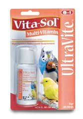 Eight In One Birds Vita-sol Multi-vitamin 4 Ounces - D328