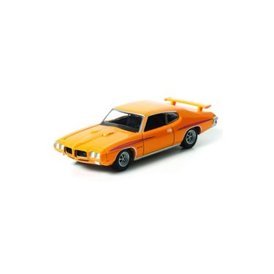 Greenlight Collectibles - Two-Lane Blacktop Diecast Model 1/64 1970 Pontiac GTO Orange - 1