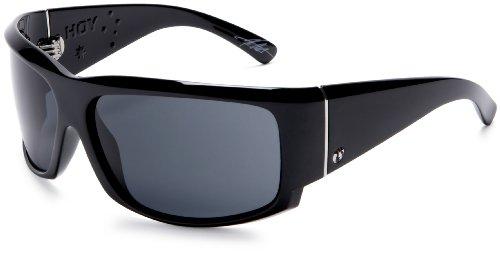 Electric Visual Hoy Sunglasses,Gloss Black Frame/Grey Lens,One Size