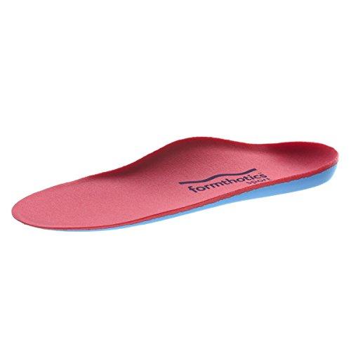 フォームソティックス Formthotics Sports インソール Run Dual 赤/青 Sサイズ 24.5-25.5cm