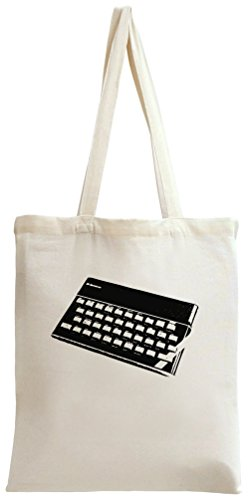 ZX Spectrum Tote/Shopping Bag. 100% organic, natural materials. Top quality and durable. Great gift idea.