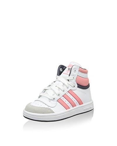adidas Zapatillas abotinadas Top Ten Hi I Blanco / Rosa