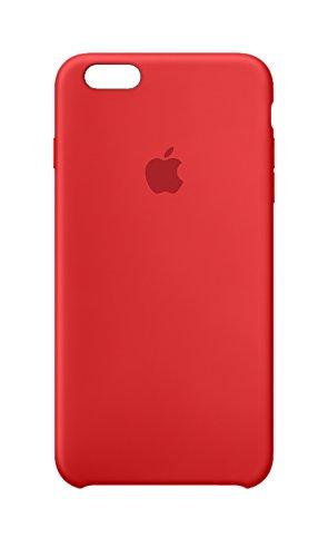 Apple MKXM2ZM/A Silikon Schutzhülle für Apple iPhone 6 Plus/6S Plus  rot