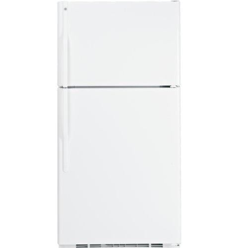 Ge Gts22Kbpww 21.7 Cu. Ft. White Top Freezer Refrigerator front-101563
