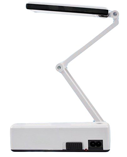 Folding Rechargeable Led Desk Lamp For Working And Reading, White