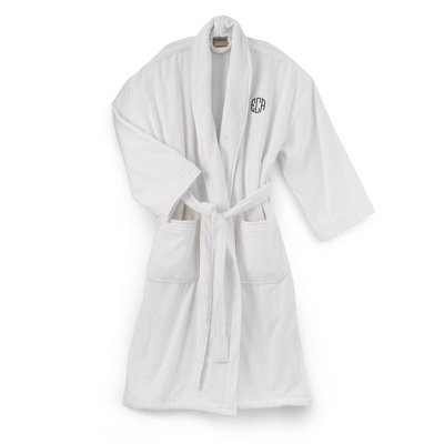 Embroidered/Monogrammed Women'S Robe-25 Thread Colors front-413025