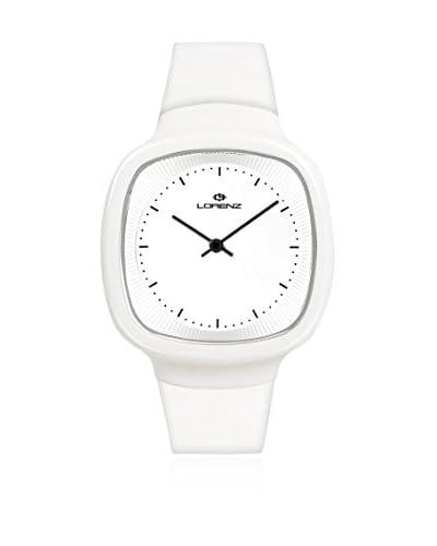 Lorenz Reloj de cuarzo 026794BB Blanco 40 mm