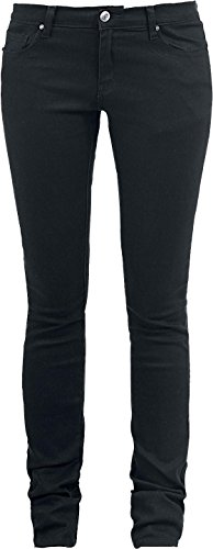 R.E.D. by EMP Skarlett (Slim Fit) Jeans donna nero W40L34