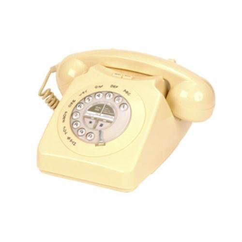 Geemarc Telecom, Mayfair Cream Two Piece Retro Telephone picture