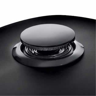 Flush-Mount Gas Cap - Gloss Black