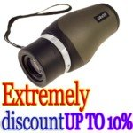 10X30 Monocular Sport Climbing Binocular With Carrying Pouch(Black)
