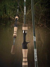 G. Loomis GLX Bass GLX953CFPR Flipping Stick Casting Rod