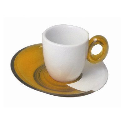 Spot Coffee Espresso Cup (Set Of 2) Color: Yellow