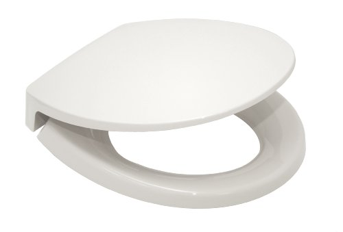 Toto Ss113#01 Transitional Softclose Round Toilet Seat, Cotton White front-750036
