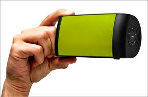 The OontZ with Lime Green Grille by Cambridge SoundWorks - Top Rated Bluetooth Speaker from Cambridge SoundWorks