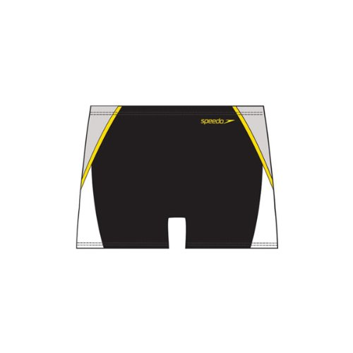 Speedo Serve Aquashort Mens Swimming Trunks (Black 38in)