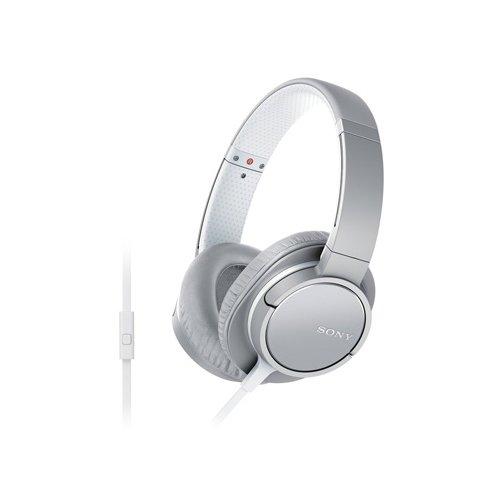 Sony MDR-ZX770AP Stylish Around-Ear Headphone (International Version) - White