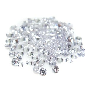 Round 3mm Lavender CZ Cubic Zirconia Loose Stone Lot of 500 Pieces