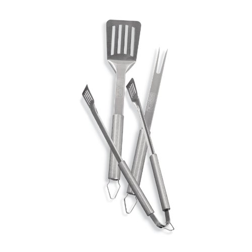 Weber 6420 3-Piece Stainless-Steel Barbecue Tool Set