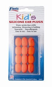 Ear Plugs Kids Soft Silicone - 6 Pairs, by Ear Plugs (Pressure Equalizing Ear Plugs compare prices)