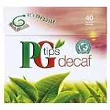 ピージーティップス (PGTIPS) デカフェティー 紅茶 40bags