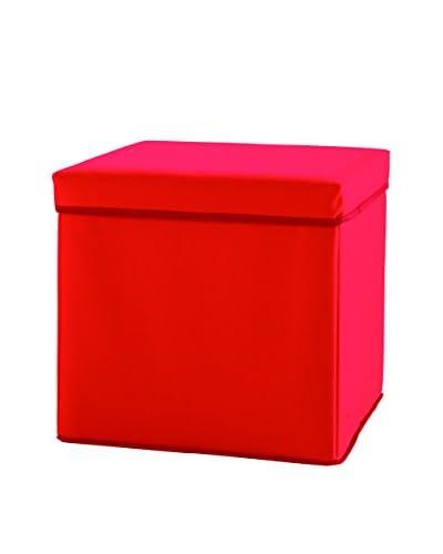 Links Poef Set van 8 F00360901101 rood