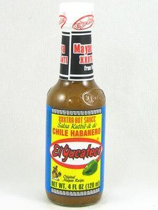 El Yucateco Extra Hot Habanero Sauce 4 Oz from El Yucateco