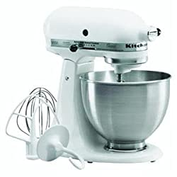 Kitchenaid K45SSWH Classic Series Stand Mixer