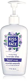 Kiss My Face Liquid Moisture Soap Lavender Shea 9 Ounce Pack of 2