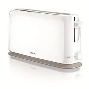 Philips HD2598/00 Grille-Pain blanc 7 Températures Fente ultra-longue