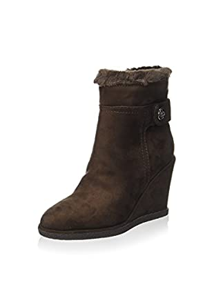 Guess Botas cuña (Marrón)