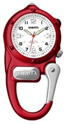 DakotaWatch 38079 Adult's Mini Clip Microlight Red One Size