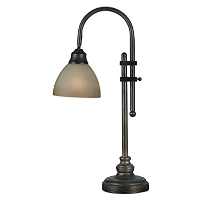 Kenroy Home 20994BH Callahan Desk Lamp