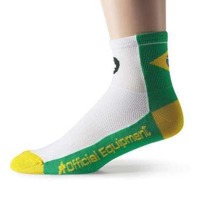Buy Low Price Assos 2012 Brasil Federation Cycling Socks – P13.60.616.99 (B0023XOIEG)
