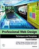 img - for Professional Web Design 4th (forth) edition Text Only book / textbook / text book