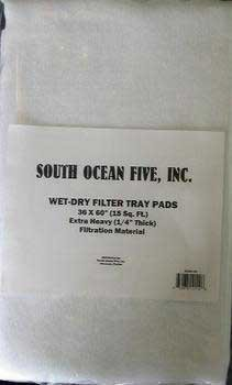 South Ocean Five Aof13660 Filter Felt Heavy Weight Pad, 36 By 60-Inch front-522882