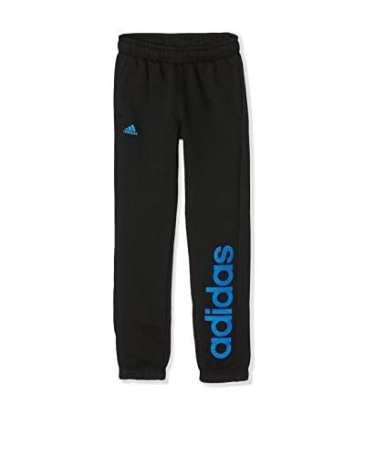 adidas Pantalón Deporte Hose YB ESS LIN BRPC Negro / Azul
