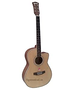 Dzire Acoustic Guitar by SG Musical available at Amazon for Rs.8995