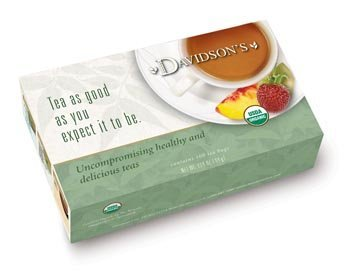 Davidson Organic Tea 232 Irish Breakfast Tea, Box Of 100 Tea Bags