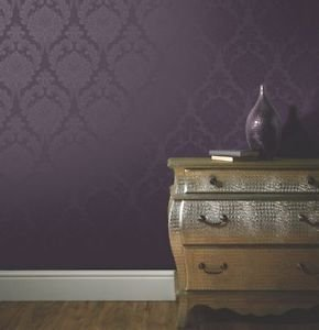 Arthouse Astoria Wallpaper - Plum by New A-Brend