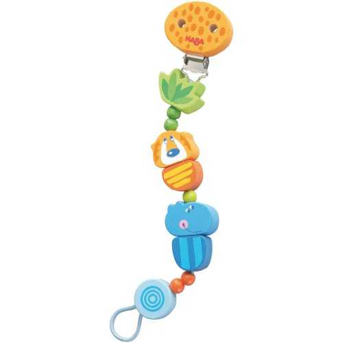 HABA Jungle Caboodle Pacifier chain - 1