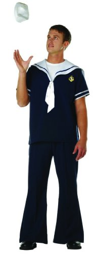 Sailor Navy Blue Costume Adult