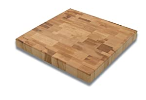 Snow River 12-by-12-Inch Maple End-Grain Cutting Board