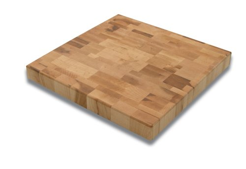 Snow River 12-Inch by 12-Inch Maple End Grain Cutting Board